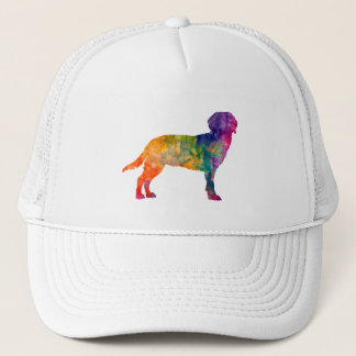 Tyrolean Hound in watercolor Trucker Hat