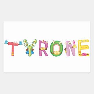 Tyrone Sticker