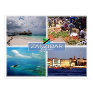 TZ - Tanzania - Zanzibar - Postcard