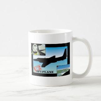 U2 Spy Plane Basic White Mug