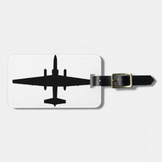 U-2 Dragon Lady Travel Bag Tags