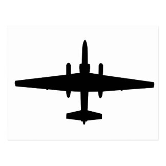U-2 Dragon Lady Postcard