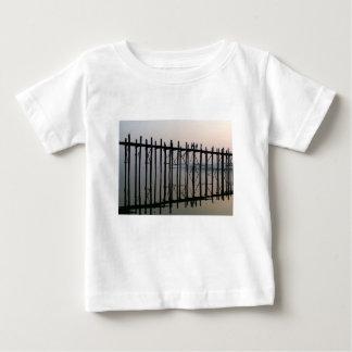 U Bein Bridge, Amarapura Baby T-Shirt