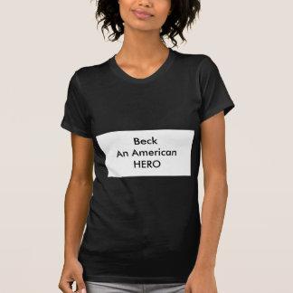 !!! U Create Beck An American HERO Shirts