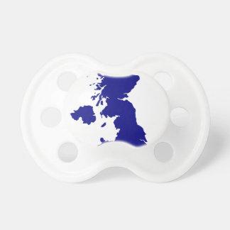 U.K. and Northern Ireland Silhouette Dummy