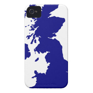 U.K. and Northern Ireland Silhouette iPhone 4 Covers