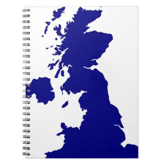 U.K. and Northern Ireland Silhouette Notebooks