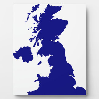 U.K. and Northern Ireland Silhouette Plaque