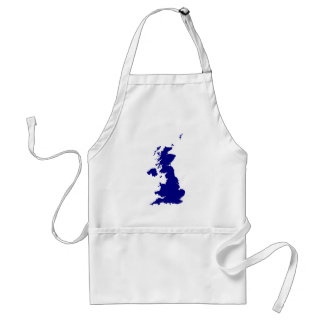U.K. and Northern Ireland Silhouette Standard Apron