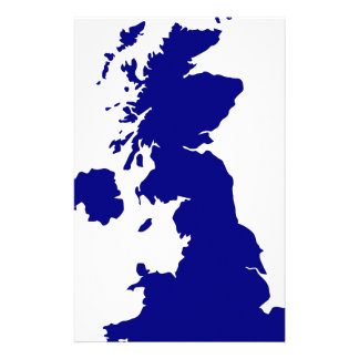 U.K. and Northern Ireland Silhouette Stationery