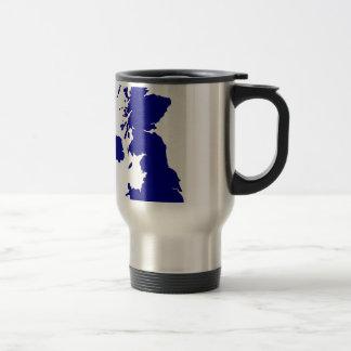 U.K. and Northern Ireland Silhouette Travel Mug