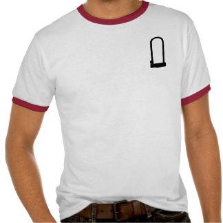 U-Lock Red Ringer Men's T Shirt