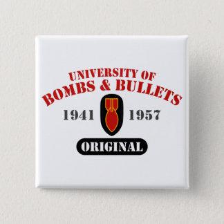 U of B&B Original 15 Cm Square Badge