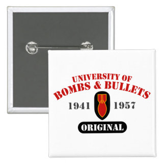 U of B&B Original 15 Cm Square Badge
