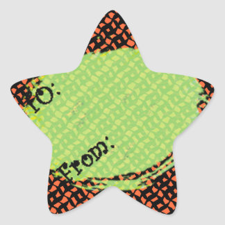 U Pick Background Color/Halloween Gift Tag Label Stickers