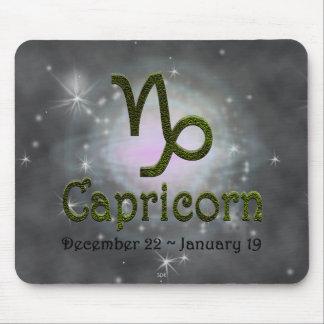 U Pick Color/ Capricorn Zodiac Sign Mouse Pad
