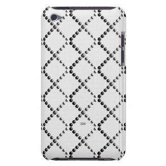 U pick Color/ Criss Crossing Chrome Metal St iPod Touch Cases