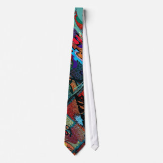 U-pick Color/ Graffiti Art on Brick Wall Tie