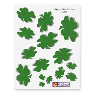 U-pick Color/ Green Good Luck Irish 4 Leaf Clover