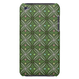 U-pick Color/ Iron Celtic Good Fortune Flower Barely There iPod Cases
