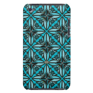 U-pick Color/ Iron Celtic Good Fortune Flower II Barely There iPod Case