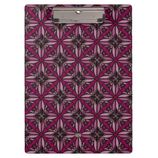 U-pick Color/ Iron Celtic Good Fortune Flower II Clipboard