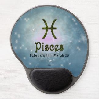 U Pick Color/ Pisces Zodiac Sign Gel Mouse Pad