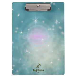 U Pick Color/ Sagittarius Zodiac Sign Clipboard