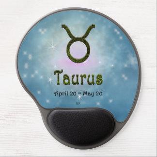 U Pick Color/ Taurus Zodiac Sign Gel Mouse Pad