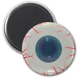 U Pick Color Tint/ Halloween Eyeball Globe Fridge Magnets