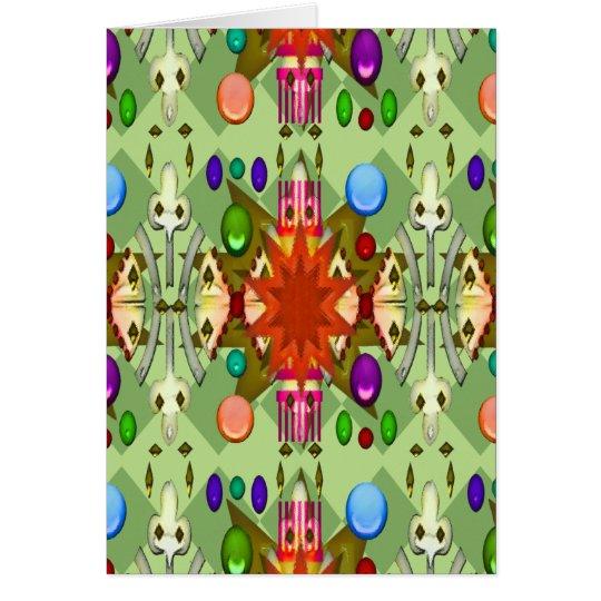 U-pick Colour/Renaissance Party Cathedral Card