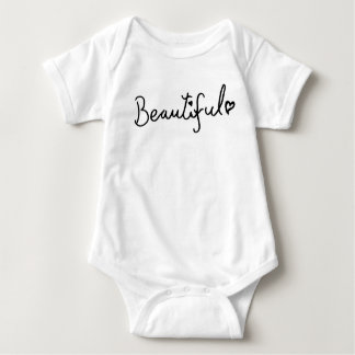 U R Beautiful! Baby Bodysuit