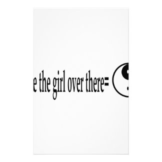 U R The Girl Custom Stationery