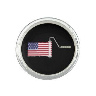 U.S.A. Flag Paint Roller