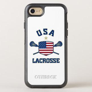 U.S.A Lacrosse Phone OtterBox Symmetry iPhone 8/7 Case