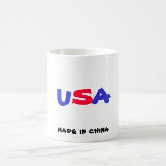 U, S, A, made in china Coffee Mug