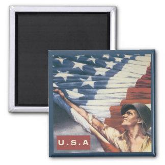 U.S.A Magnet