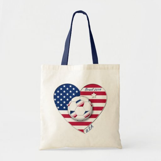 """""""U.S.A."""" Soccer Team Soccer of the United States 2 Bag"""