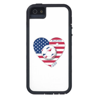 """U.S.A."" Soccer Team Soccer of the United States 2 iPhone 5 Cover"