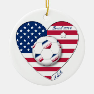 """""""U.S.A."""" Soccer Team Soccer of the United States 2"""