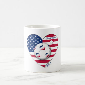 """U.S.A."" Soccer Team Soccer of the United States 2 Coffee Mug"