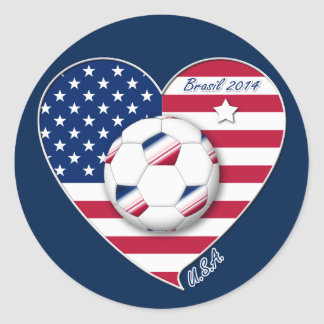 U.S.A. Soccer Team.  Soccer the United States 2014