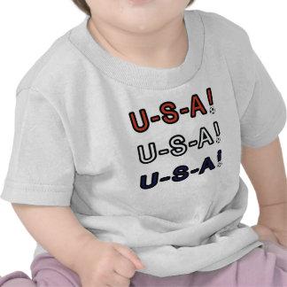 U-S-A! T SHIRTS