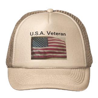 U.S.A. Veteran Mesh Hats