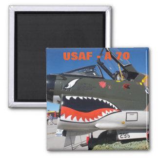 U.S. Air Force A-70 Square Magnet