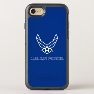 U.S. Air Force Logo - Black OtterBox Symmetry iPhone 7 Case