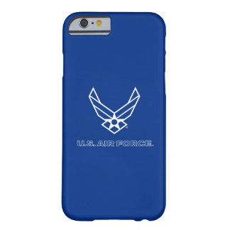U.S. Air Force Logo - Blue Barely There iPhone 6 Case