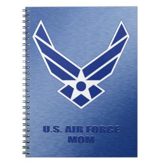 U.S. Air Force Mom Spiral Photo Notebook