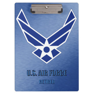 U.S. Air Force Retired Clipboard