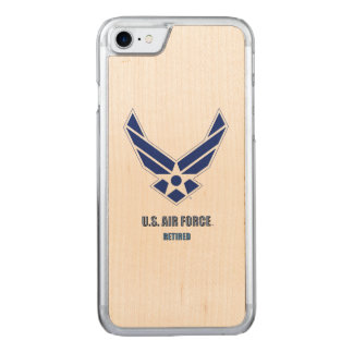 U.S. Air Force Retired iPhone & Samsung Wood Cases